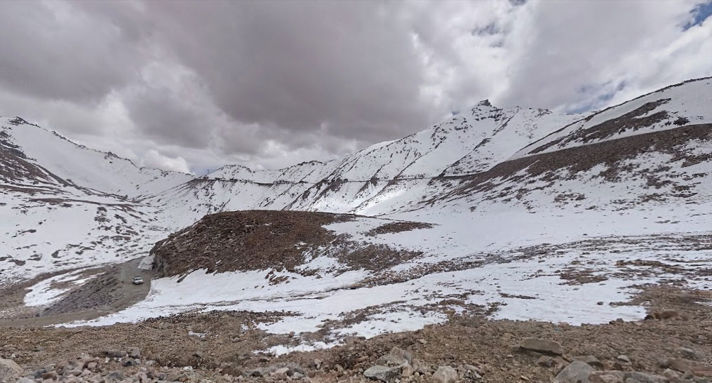 Khardung-La top the world's highest motorable road and the high point of our road trip to Leh