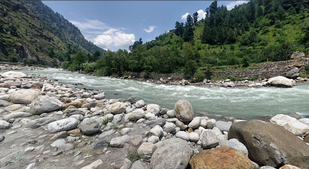 River bed of the Beas