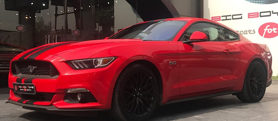 Mustang GT- The Luxury Sports Car